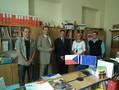 První rada Francouského velvyslanectví, pan Nicolas de Lacoste, na návštěvě školy