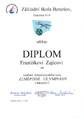 Diplom F. Zajíce z KK ZeO 20122013