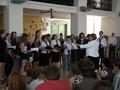 Koncert v aule školy