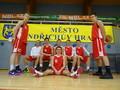 Kvalifikace na MČR středních škol v basketbalu - 1. místo