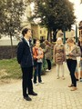 Historická procházka maturitního dějepisného semináře po Nymburce