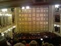 opona a orchestřiště