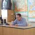 Pan Moravec si píše naše jména