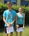 Míša Frebortová a David Noll přivážejí zlato a bronz z finále Plavecko-běžeckého poháru!