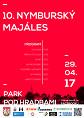 Plakát Majálesu 2017
