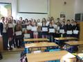 Předávání mezinárodních certifikátů z francouzského jazyka DELF scolaire