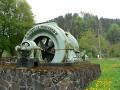 původní turbína elektrárny ve Spálově (Historiáda 2018 Ž.B.)