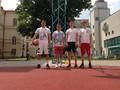 První hrací den zahájil 12. ročník Školní streetballové ligy