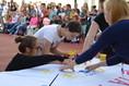 Spolužáci a učitelé přivítali nové žáky prim i 1.A