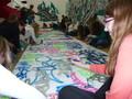 všichni malují graffiti exkurze evv