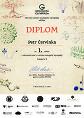 Diplom P. Červinky z OK GeO 2017