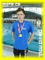 Student David Noll je trojnásobným Mistrem České republiky v plavání!