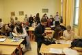 Místnost pro debatéry - v popředí A-team z Nymburka