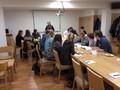 Studenti politologického semináře na MUP při herní simulaci o mezinárodních vztazích