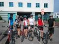 Start cyklistů