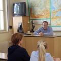 Natáčení debaty s Václavem Moravcem